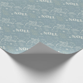Winter Holidays Wrapping Paper