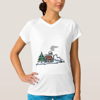 Winter Home Womens Active Tee