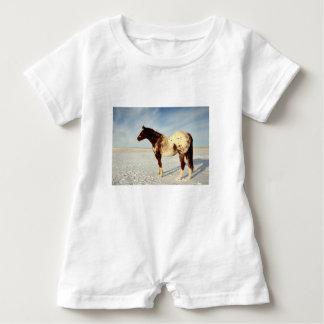 Winter Horse Baby Bodysuit