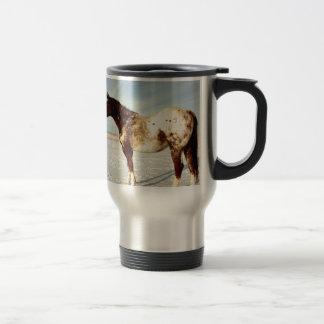 Winter Horse Travel Mug