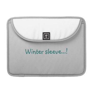 Winter house sleeve for MacBooks