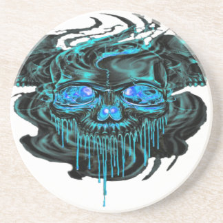 Winter Ice Skeletons PNG Coaster