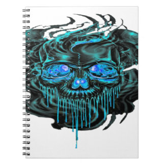 Winter Ice Skeletons PNG Notebook