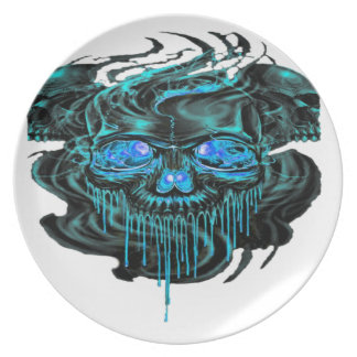 Winter Ice Skeletons PNG Plate