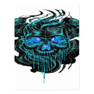 Winter Ice Skeletons PNG Postcard