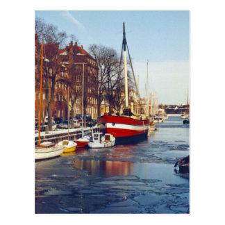 Winter in Copenhagen Postcard