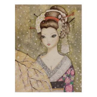 Winter in Kyoto Postcard