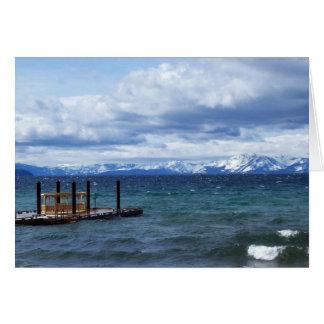 Winter in Lake Tahoe Greeting Card