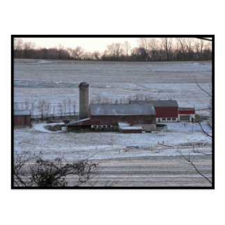 ~ Winter in Lancaster County ~ 12 Postcard