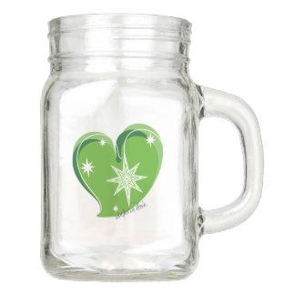 winter in love-Signature-Green Mason Jar