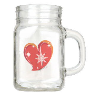 winter in love-Signature-Red Mason Jar