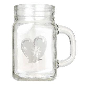 winter in love-Signature-Silver Mason Jar