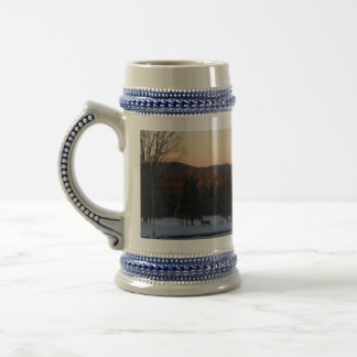 Winter In New England Beer Stein