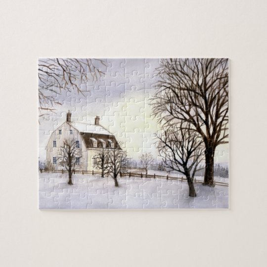 Winter in New England Jigsaw Puzzle