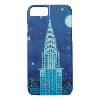 Winter in New York City iPhone 7 Case