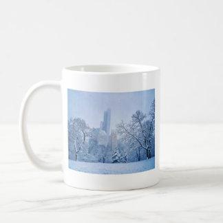 Winter In New York City's Central Park Coffee Mug