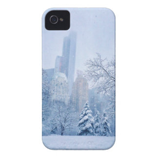 Winter In New York City's Central Park iPhone 4 Covers