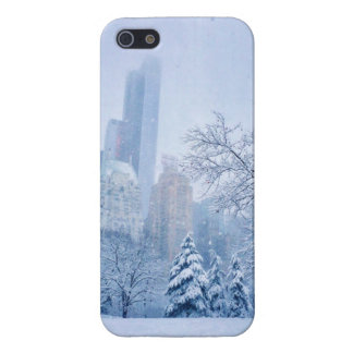 Winter In New York City's Central Park iPhone 5/5S Cover