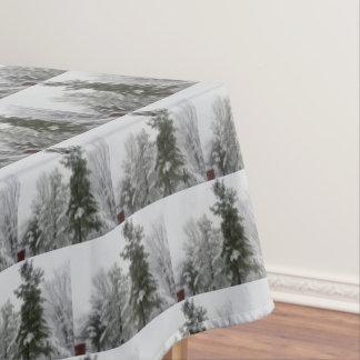 WINTER IN OHIO table cloth