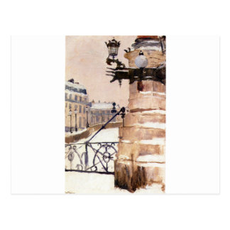 Winter in Paris by Frits Thaulow Postcard