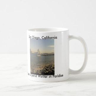 Winter in San Diego Coffee Mug