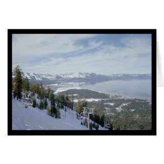 Winter in Tahoe- Song of Sol. 8:7 Greeting Card