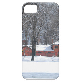 Winter in The Park iPhone 5 Case