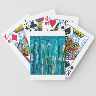 winter in the pines 121517 bicycle playing cards