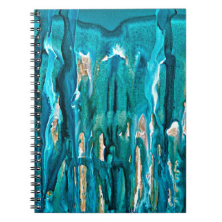 winter in the pines 121517 spiral notebook