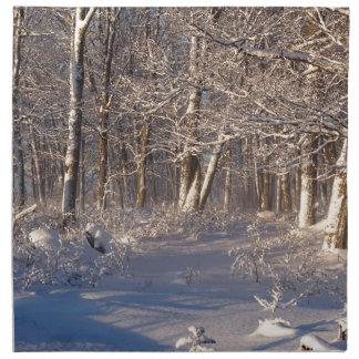 Winter in the Sugar Bush Napkin