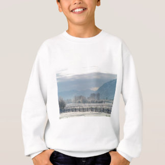Winter in the valley sweatshirt