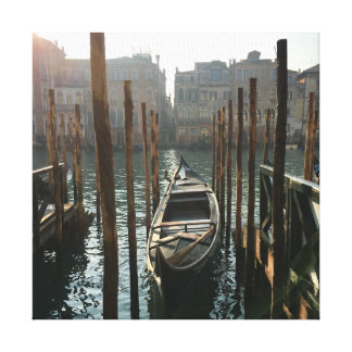 Winter in Venice Canvas Print