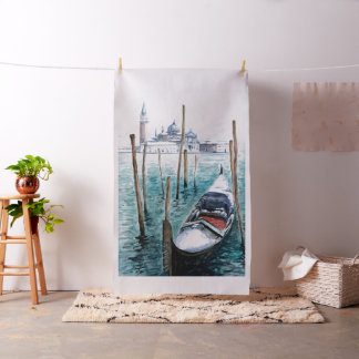 Winter in Venice Tapestry Fabric