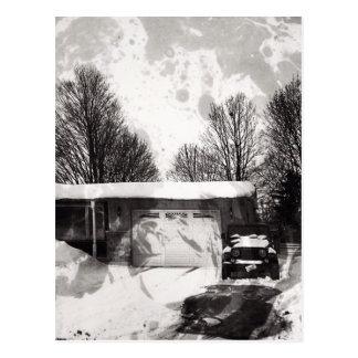 Winter in Woodstock Postcard