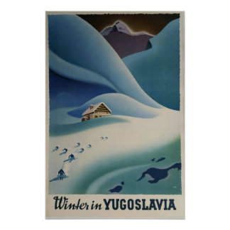 Winter in Yugoslavia, Ski poster
