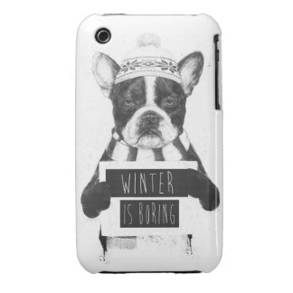 Winter is boring Case-Mate iPhone 3 cases