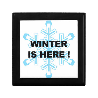 Winter is Here! Liberal Snowflake Gift Box