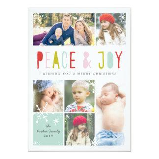 Winter Joy Holiday Card 13 Cm X 18 Cm Invitation Card