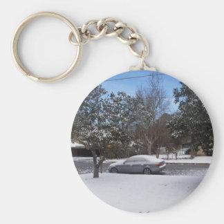 Winter Key Ring