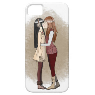 Winter kisses Phone Case iPhone 5 Covers