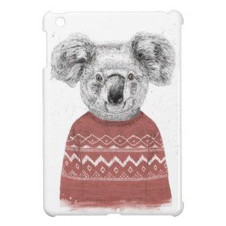 Winter koala (red) case for the iPad mini