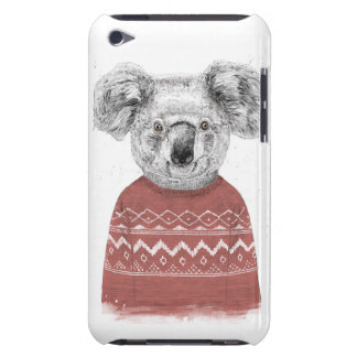 Winter koala (red) Case-Mate iPod touch case