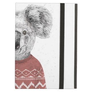 Winter koala (red) cover for iPad air