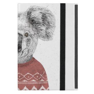 Winter koala (red) iPad mini case