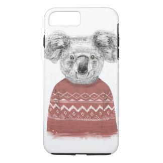 Winter koala (red) iPhone 8 plus/7 plus case
