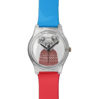Winter koala (red) watch