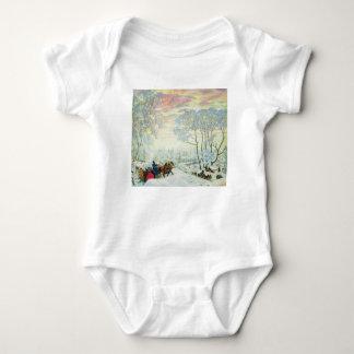 Winter._Kustodiev Baby Bodysuit