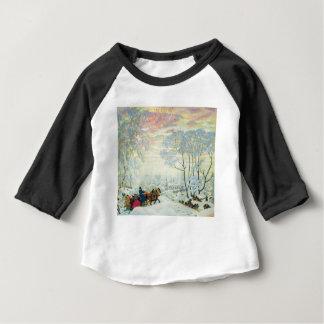Winter._Kustodiev Baby T-Shirt