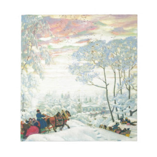 Winter._Kustodiev Notepad
