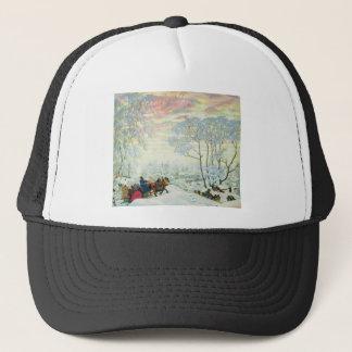 Winter._Kustodiev Trucker Hat